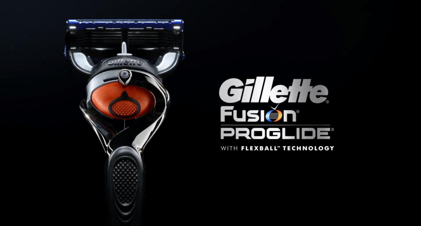 Gillette Fusion ProGlide met Flexball technologie