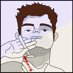 hoe-hals-kaken-scheren