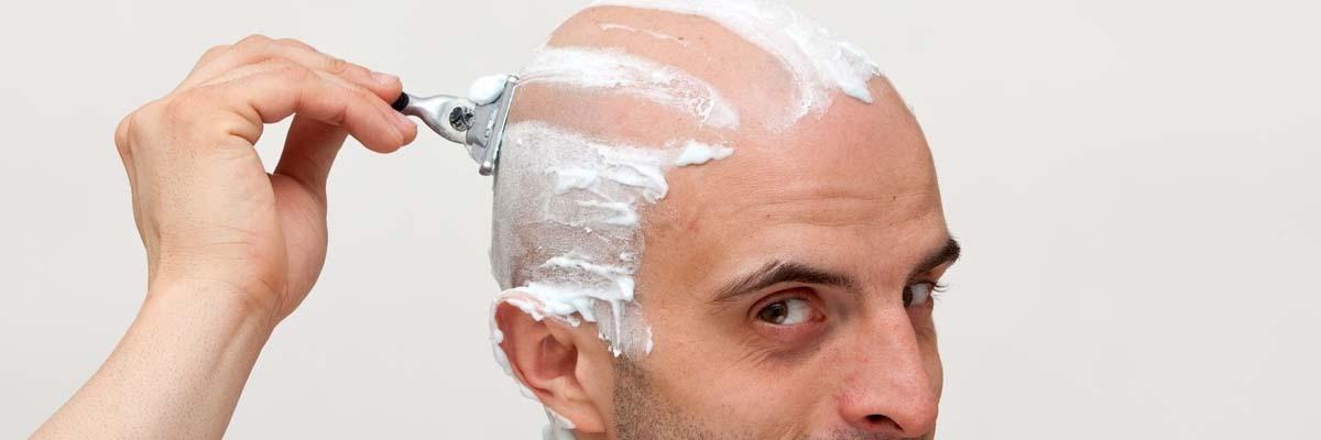 Hoofd kaal scheren