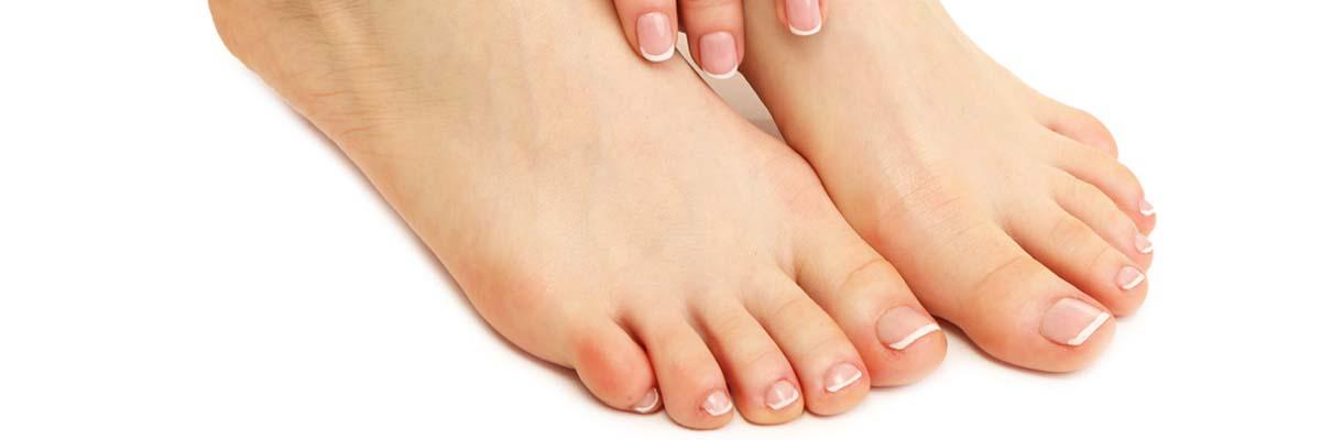 Hoe voeten en tenen scheren