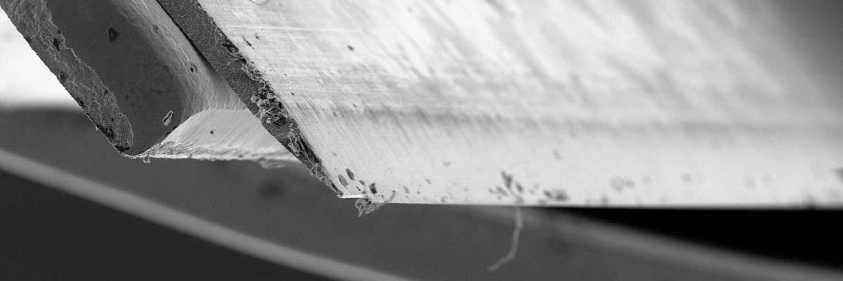 Scheermesjes weer scherp maken (slijpen)