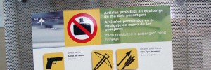 Scheermesjes meenemen in het vliegtuig?