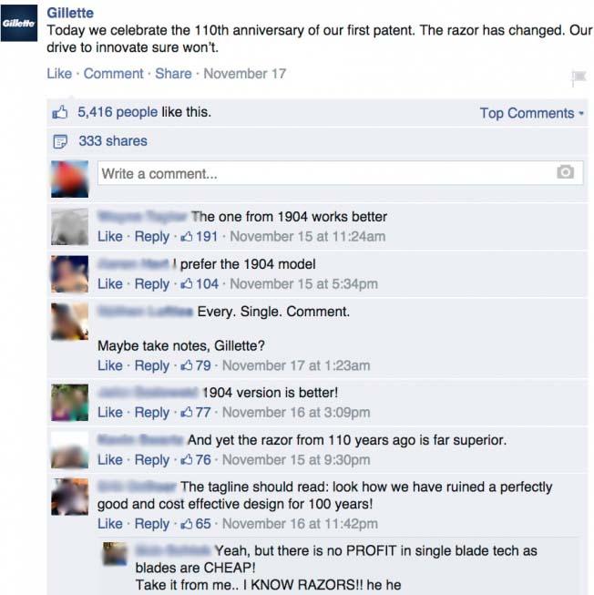 gillette-reacties-facebook-oude-nieuwe-mes-verjaardag