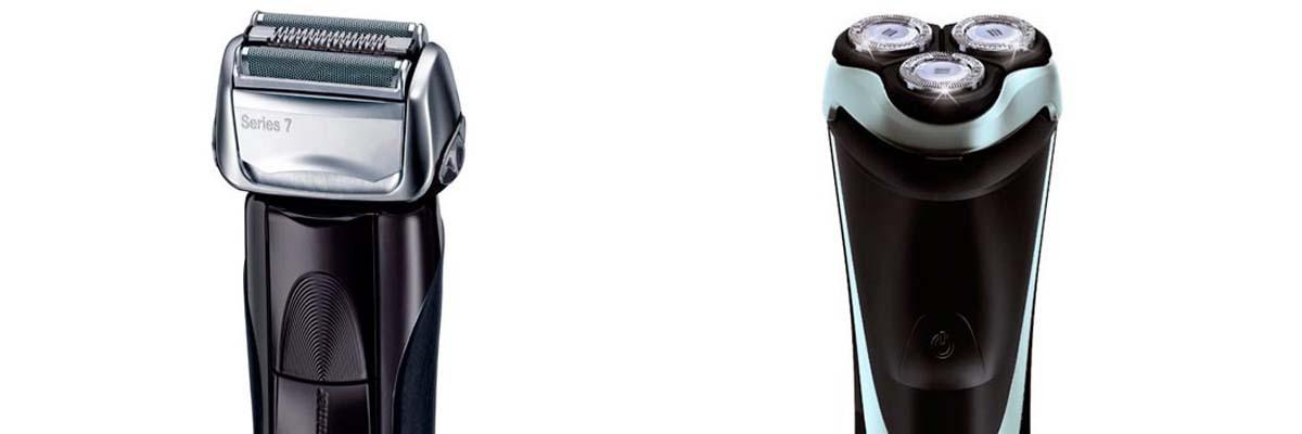 Verschil tussen roterend en vibrerend folie scheerapparaat