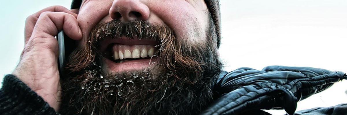 Een baard is vies en onhygiënisch! Regelmatig maar niet dagelijks wassen!